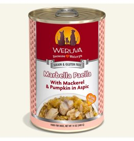 Weruva Weruva Original Canned Dog Food CASE Marbella Paella 14 oz