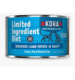 Koha Koha LID Premium Cat Food | Shredded Lamb 5.5 oz Can Single