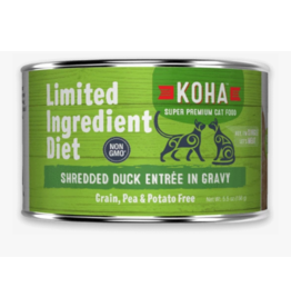 Koha Koha LID Premium Cat Food | Shredded Duck 5.5 oz Can single