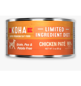 Koha Koha Canned Cat Food Chicken Pate 3 oz single