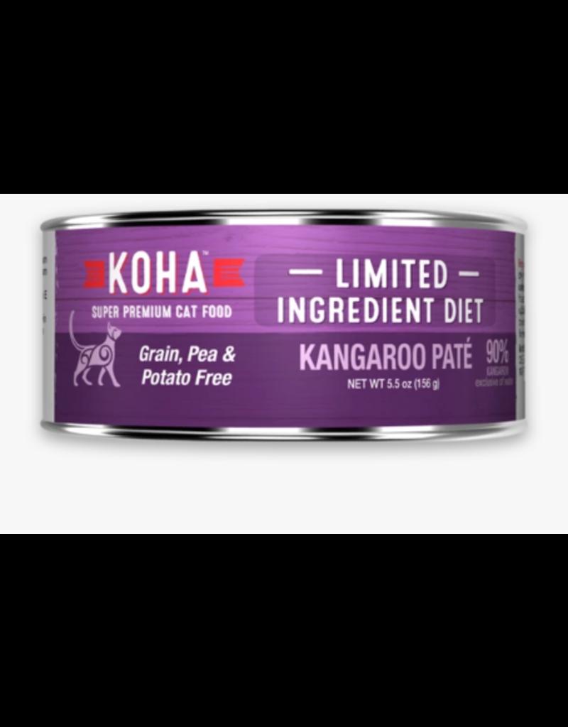 Koha Koha Canned Cat Food Kangaroo Pate 5.5 oz single
