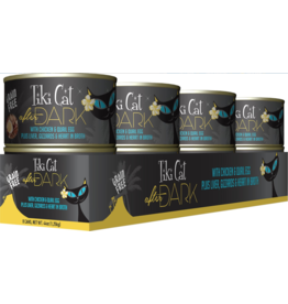 Tiki Tiki Cat After Dark Canned Cat Food CASE Chicken and Quail Egg 5.5 oz