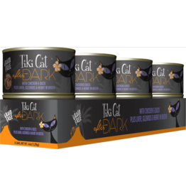 Tiki Tiki Cat After Dark Canned Cat Food CASE Chicken and Duck 5.5 oz