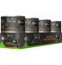 Tiki Cat After Dark Canned Cat Food CASE Chicken and Lamb 5.5 oz