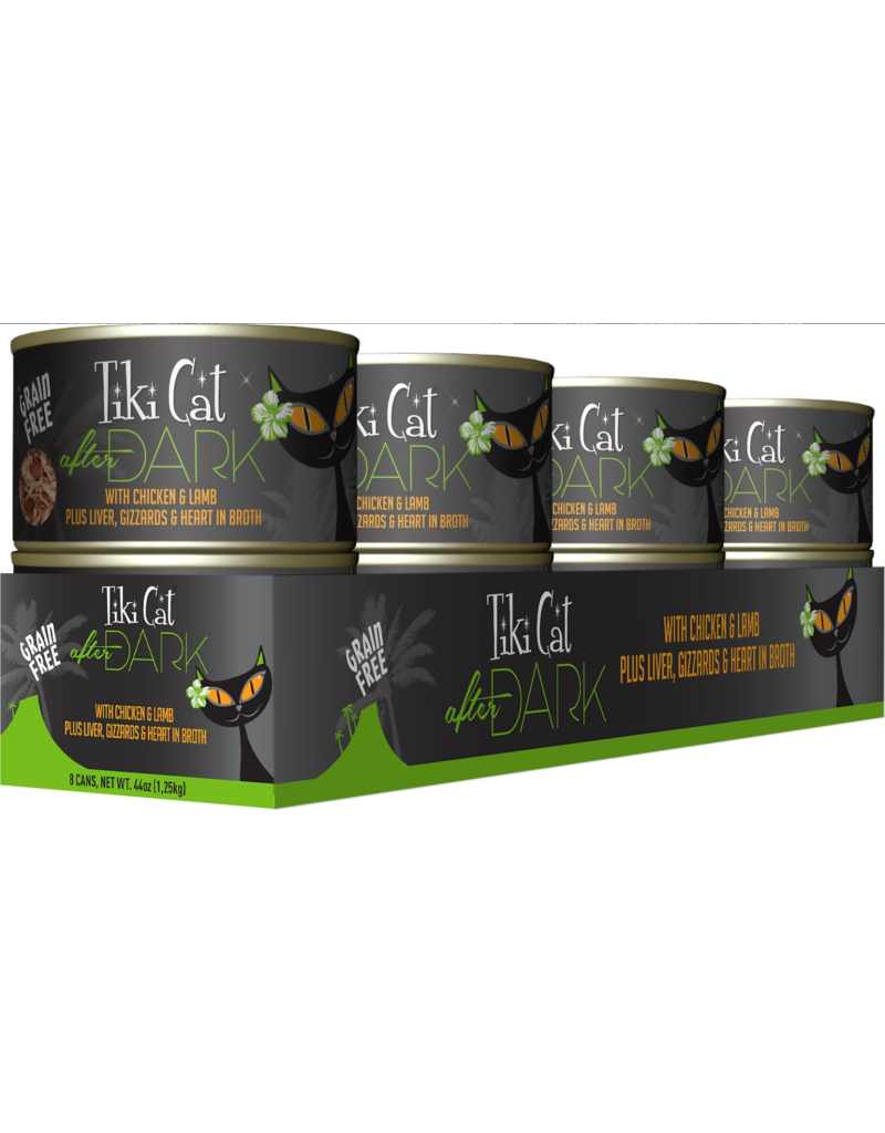 Tiki Tiki Cat After Dark Canned Cat Food Chicken and Lamb 5.5 oz single