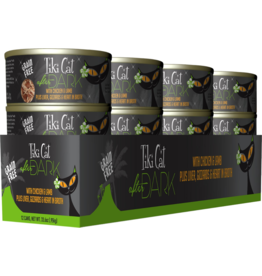 Tiki Cat After Dark Canned Cat Food CASE Chicken and Lamb 2.8 oz