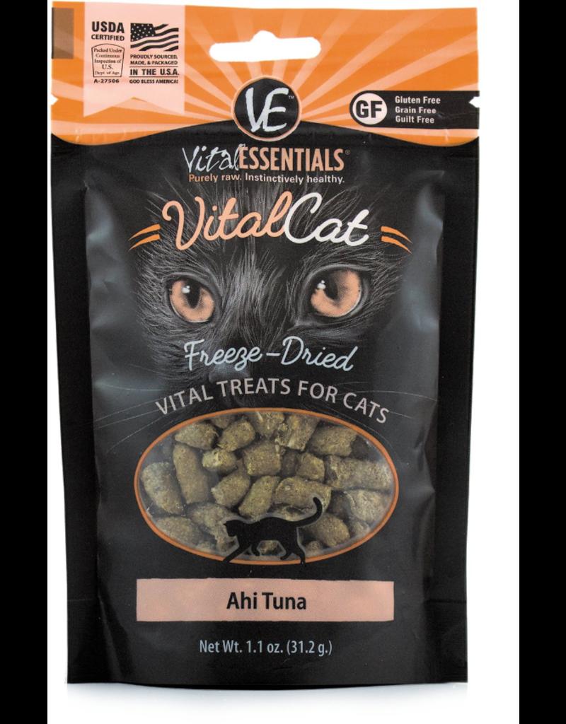 Vital Essentials Vital Essentials Freeze Dried Cat Treats Ahi Tuna 1.1 oz