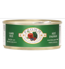 Fromm Fromm Four Star Canned Cat Food CASE Lamb Pate 5.5 oz
