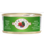 Fromm Fromm Four Star Canned Cat Food CASE Chicken & Duck Pate 5.5 oz