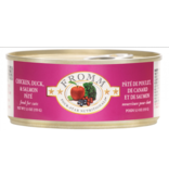 Fromm Fromm Four Star Canned Cat Food CASE Chicken, Duck & Salmon Pate 5.5 oz