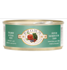 Fromm Fromm Four Star Canned Cat Food CASE Salmon & Tuna Pate 5.5 oz