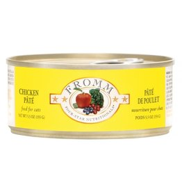 Fromm Fromm Four Star Canned Cat Food CASE Chicken Pate 5.5 oz