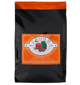 Fromm Fromm Four Star Dog Kibble Chicken a la Veg 30 lb