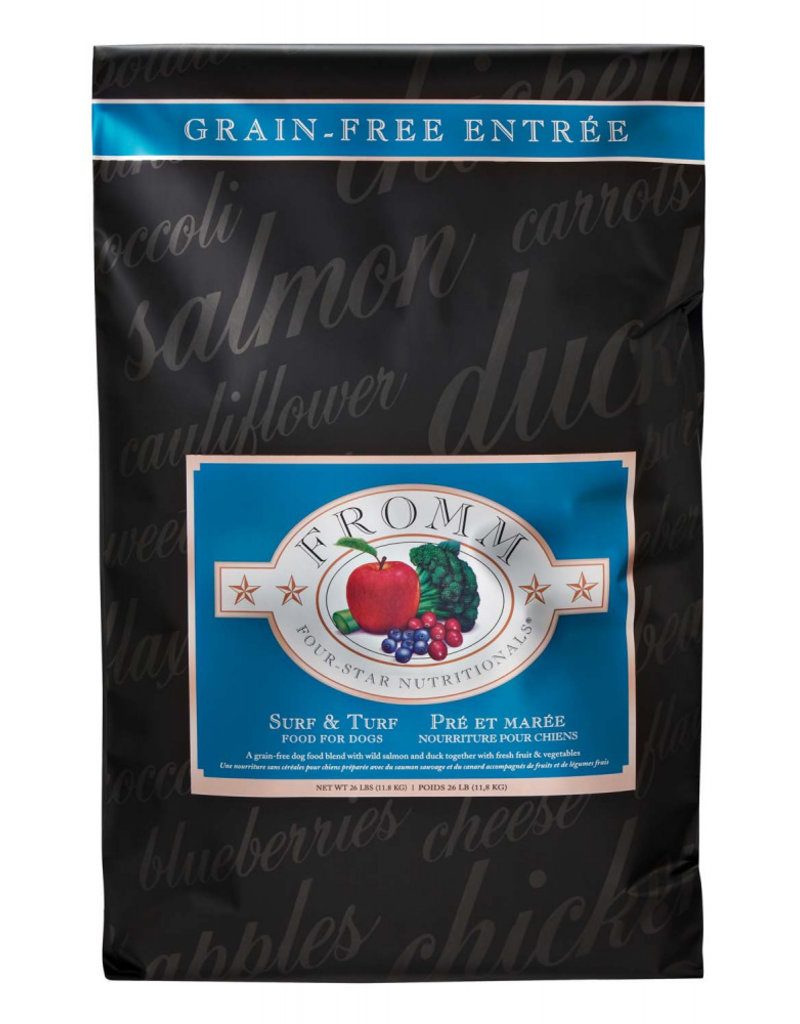 Fromm Fromm Four Star Grain Free Dog Kibble Surf & Turf 12 lb