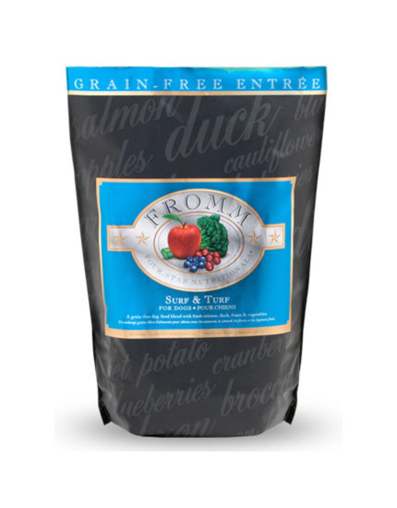 Fromm Fromm Four Star Grain Free Dog Kibble Surf & Turf 4 lb