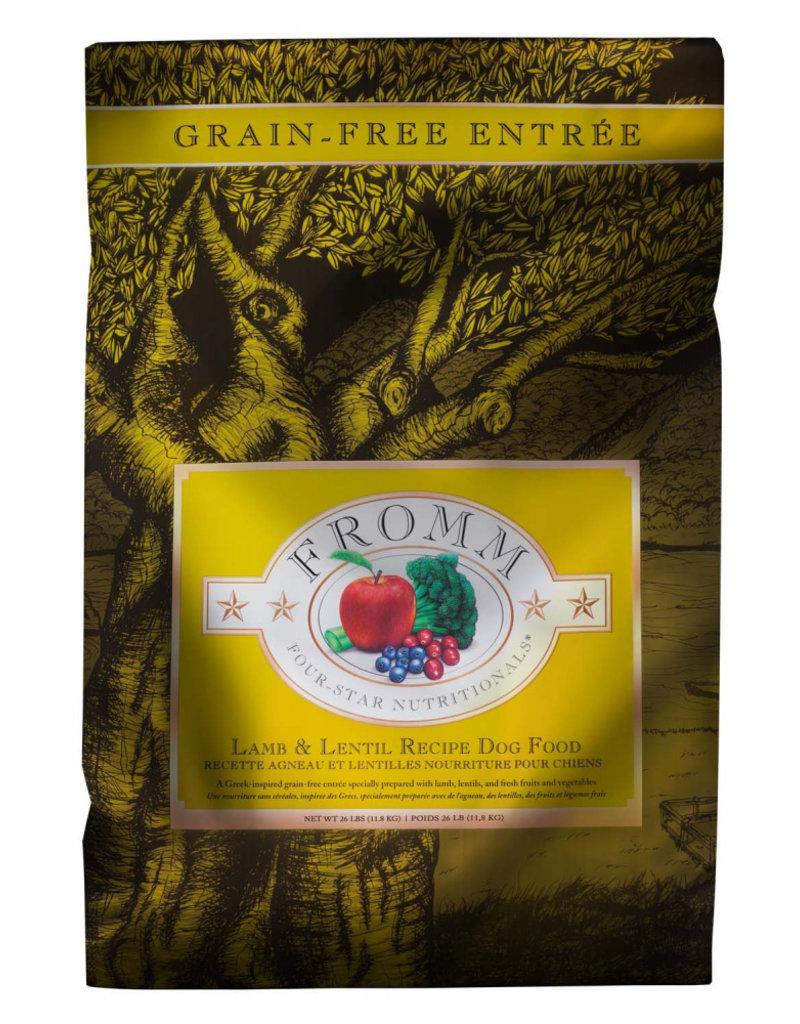Fromm Fromm Four Star Grain Free Dog Kibble Lamb & Lentils 26 lb