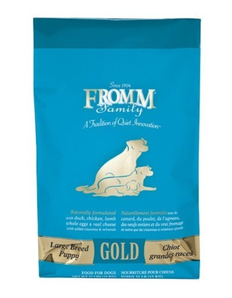 Fromm Fromm Family Gold Dog Kibble Large Breed Puppy 33 lb