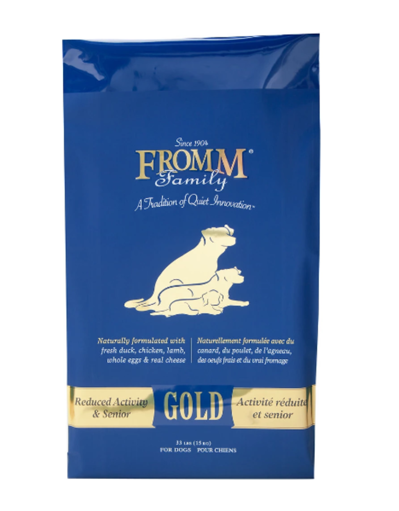 Fromm Fromm Family Gold Dog Kibble Senior Reduced Activity 15 lb