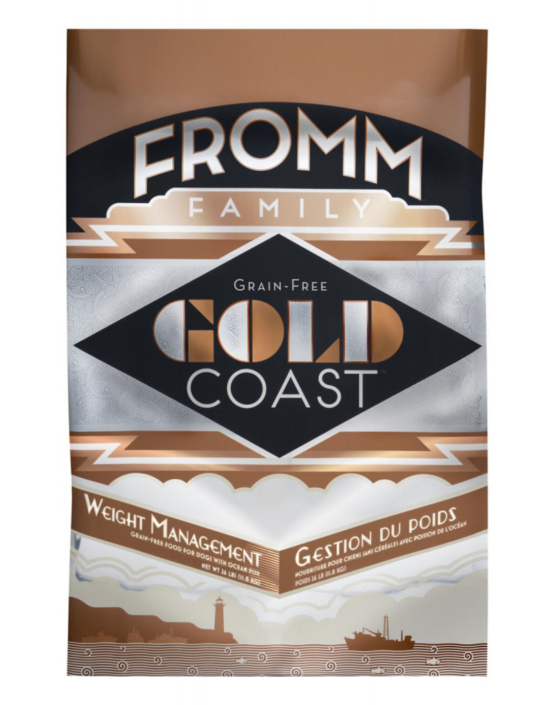 Fromm Fromm Gold Coast Grain Free Dog Kibble Weight Management 26 lb