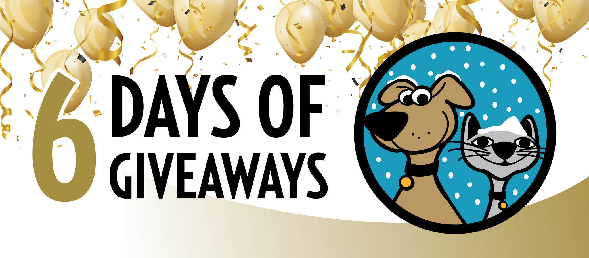 6 Days of Giveaways Contest