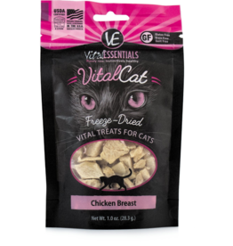 Vital Essentials Vital Essentials Freeze Dried Cat Treats Chicken Breast 1.0 oz