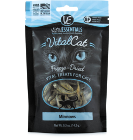 Vital Essentials Vital Essentials Freeze Dried Cat Treats Minnows 0.5 oz