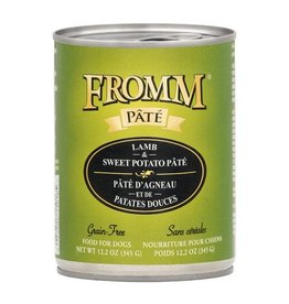 Fromm Fromm Gold Canned Dog Food   Lamb & Sweet Potato Pate 12.2 oz CASE