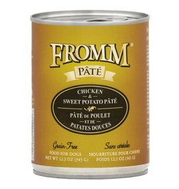 Fromm Fromm Gold Canned Dog Food | Chicken & Sweet Potato Pate 12.2 oz CASE