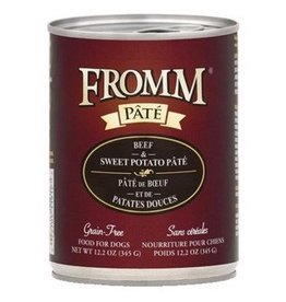Fromm Fromm Gold Canned Dog Food | Beef & Sweet Potato Pate 12.2 oz CASE