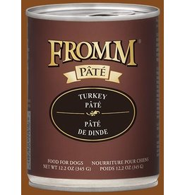 Fromm Fromm Gold Canned Dog Food   Turkey Pate 12.2 oz CASE