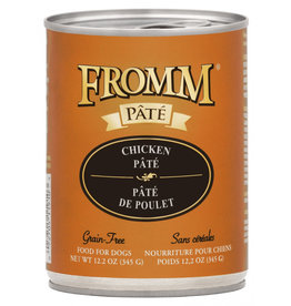 Fromm Fromm Gold Canned Dog Food CASE Chicken Pate 12.2 oz