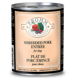 Fromm Fromm Four Star Canned Dog Food CASE Shredded Pork 12 oz