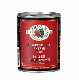 Fromm Fromm Four Star Canned Dog Food Shredded Beef 12 oz single
