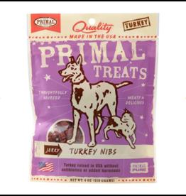 Primal Pet Foods Primal Jerky Dog Treats Turkey Nibs 4 oz