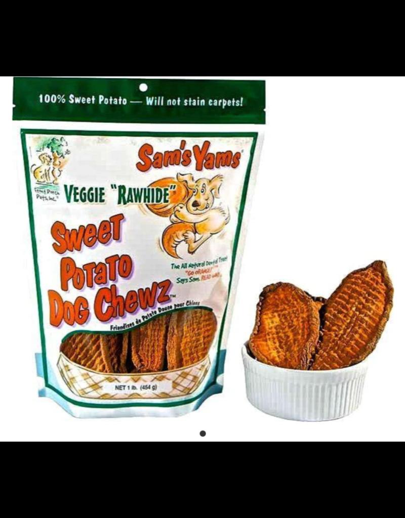 Front Porch Pets Sam's Yams Sweet Potato Chews 14 oz