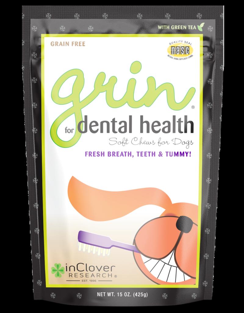 Inclover InClover Functional Dog Treats Grin 4 oz