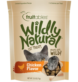 Fruitables Fruitables Wildly Natural Cat Treats Free Range Chicken Flavor 2.5 oz