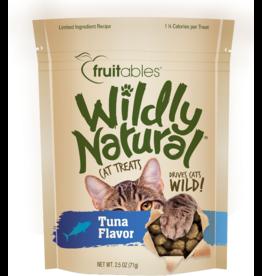 Fruitables Fruitables Wildly Natural Cat Treats Wild Caught Tuna Flavor 2.5 oz