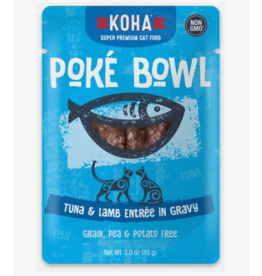 Koha Koha Cat Poke Bowl Tuna & Lamb Pouch 3 oz single