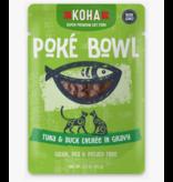 Koha Koha Cat Poke Bowl Tuna & Duck Pouch 3 oz single