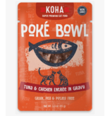 Koha Koha Cat Poke Bowl Tuna & Chicken Pouch 3 oz single