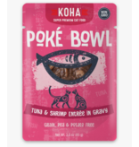 Koha Koha Cat Poke Bowl Tuna & Shrimp Pouch 3 oz single