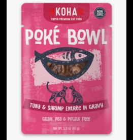 Koha Koha Cat Poke Bowl Tuna & Shrimp Pouch 3 oz single