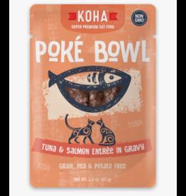 Koha Koha Cat Poke Bowl Tuna & Salmon Pouch 3 oz CASE
