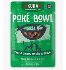 Koha Koha Cat Poke Bowl Tuna & Turkey Pouch 3 oz single