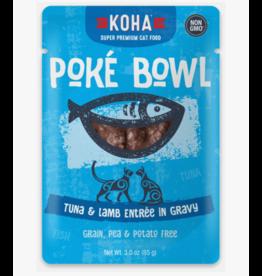 Koha Koha Cat Poke Bowl Tuna & Lamb Pouch 3 oz CASE