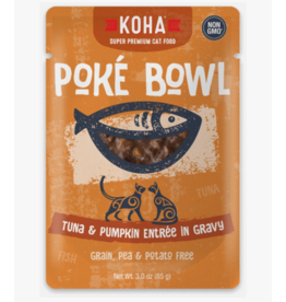 Koha Koha Cat Poke Bowl Tuna & Pumpkin Pouch 3 oz CASE