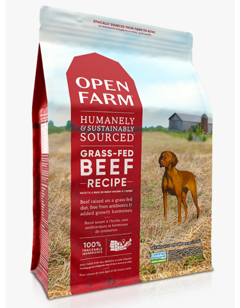 Open Farm Gf Dog Kibble Grass Fed Beef 24 Lb The Pet Beastro The Pet Beastro