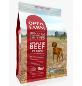 Open Farm Open Farm GF Dog Kibble Grass Fed Beef  12 lb