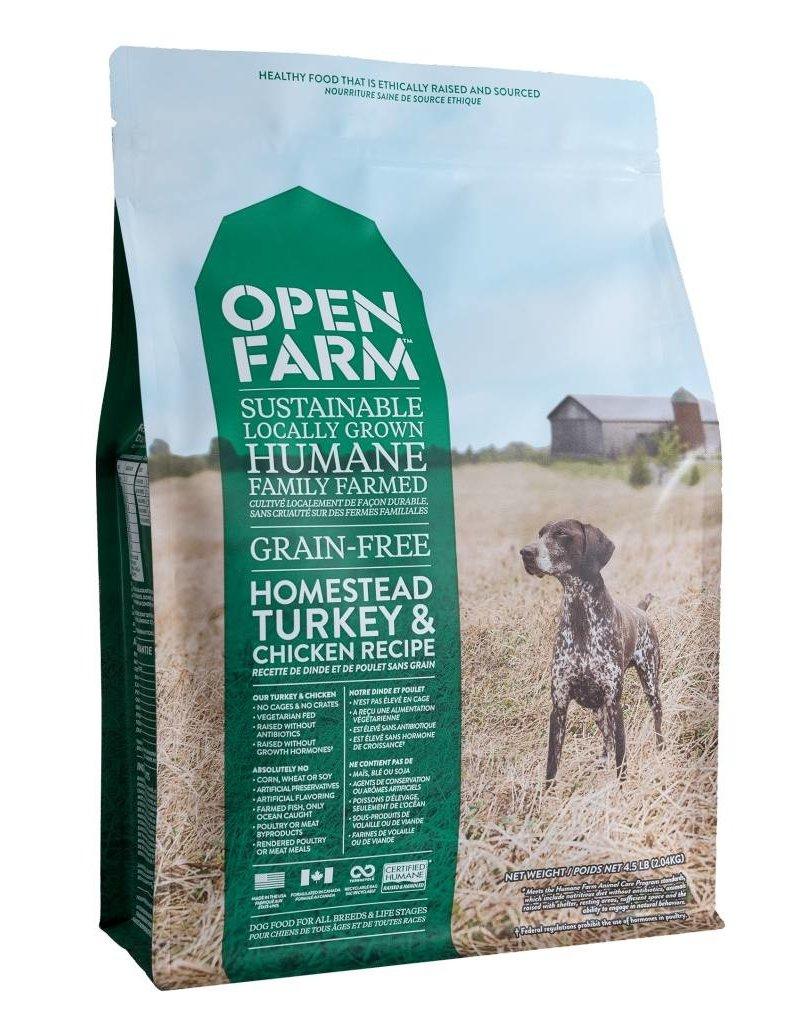 Open Farm Open Farm GF Dog Kibble Turkey & Chicken 4.5 lb